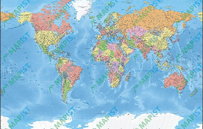 Dünya Siyasi Haritası 3