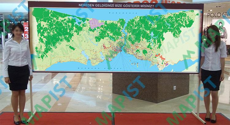 İstanbul-Duvar-Haritası