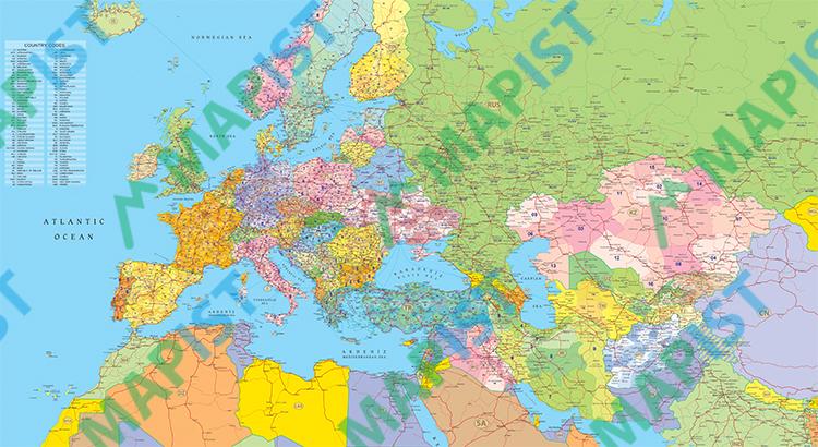 Avrasya-Posta-Kodları-Haritası
